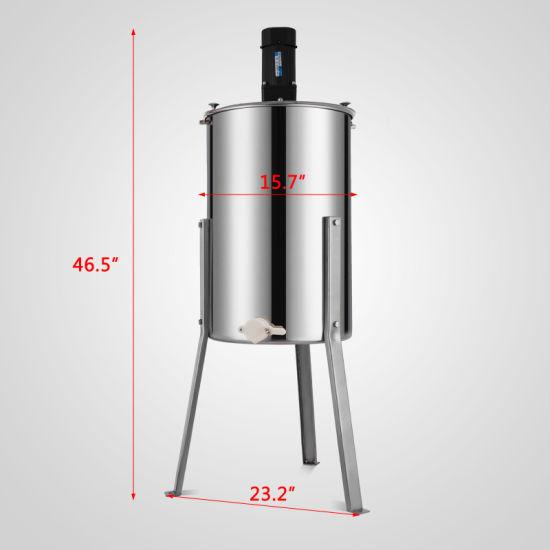 3 Frame Electric Honey Extractor Stainless Steel  Drum Beekeeping Equipment