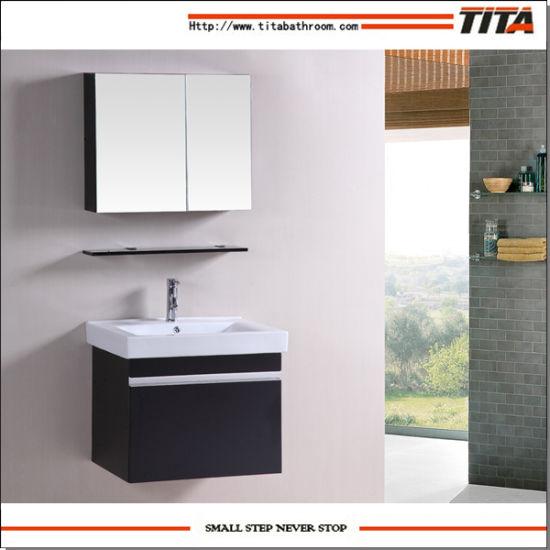 Chinese Hanging Bathroom Cabinets Designed Vanity