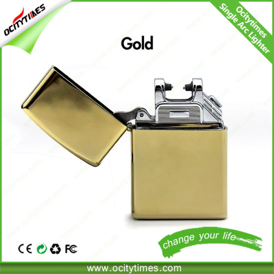 Ocitytimes Cool Design Windproof Single Arc Cigarette Lighter pictures & photos