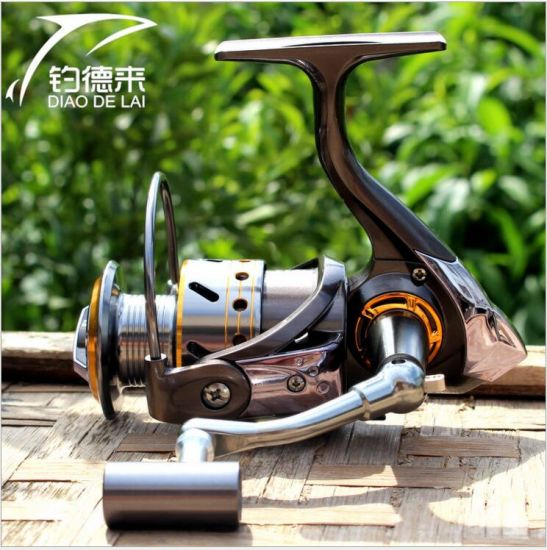Metal Fishing Gear, Spinning Wheel Fishing Reel pictures & photos