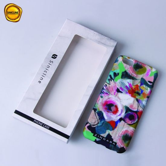 Sinicline Retail Custom Phone Cases Packaging Box with PVC Window pictures & photos