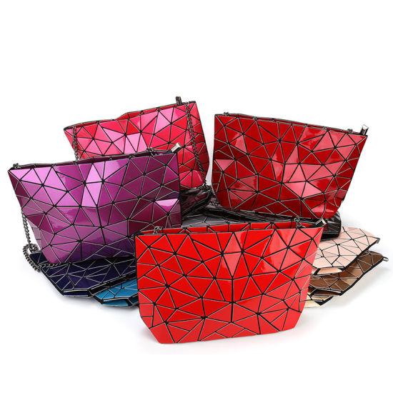Fashion Trends Ladies Women Handbag Crossbody Bag with Chain