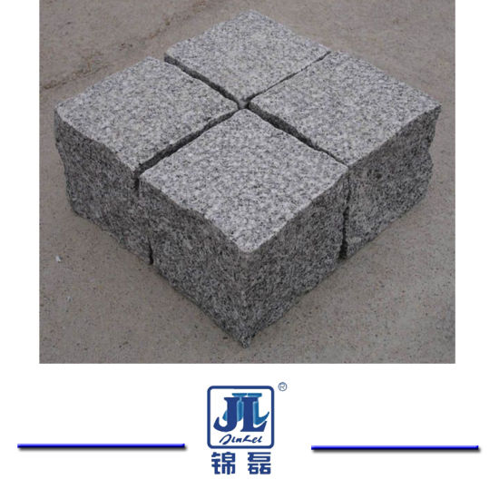 Natural Grey/Black/Red/Yellow Granite Garden/Cobble/ Cube/Flag/Kerb/Blind/Fan Shape/Paving Stones for Landscaping/Outdoor Garden/Park/Driveway
