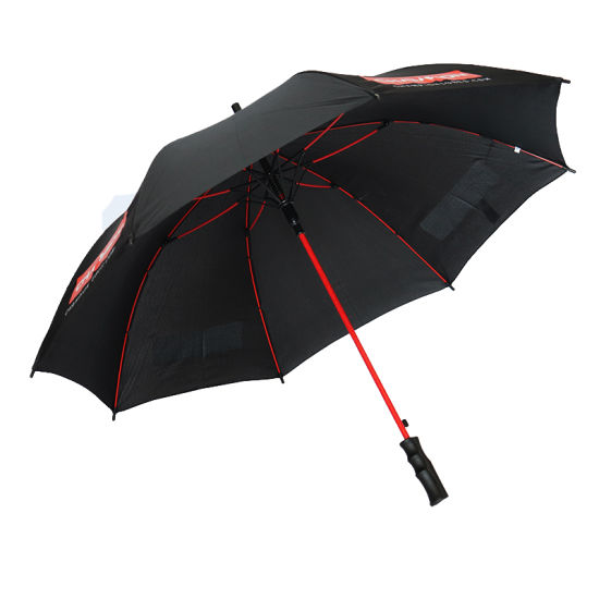 High Quality Low Prices Automatic Advertisement Umbrella Custom Print Logo Advertising Sun Straight Umbrella (YZ-19-08)