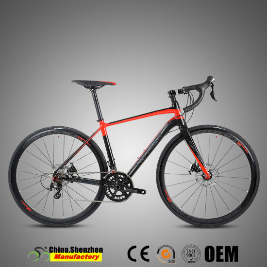 700c Shimano 22speed Aluminum Road Racing Bikes with carbon Fork pictures & photos