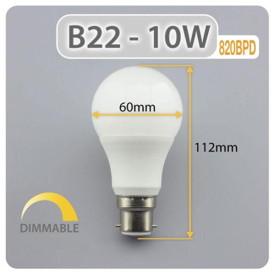 China Energy Saving Lampen E27 5w 7w 9w 12w Light A19 A60 Led Lampen