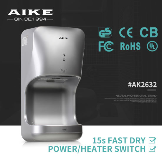 New High Speed Hand Dryer, CE Hand Dryer, 12 Second Fast Drying Hands (AK2632) pictures & photos