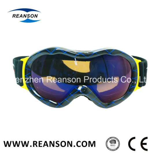 db216534d075 China High Quality UV400 Anti-Glare Customized Snowboard Goggles ...