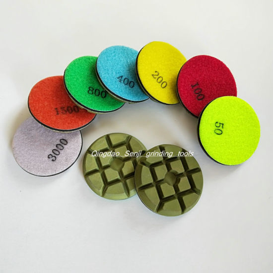 Abrasive Tools Diamond Polishing Pad Grinding Disc for Stone and Concrete Floor