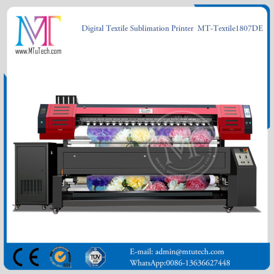 Best Price 1 8m Large Format Digital Direct to Roll Cotton Fabric Textile  Printer