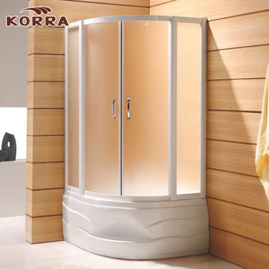Two Sliding Doors of Shower Enclosure (K-222)