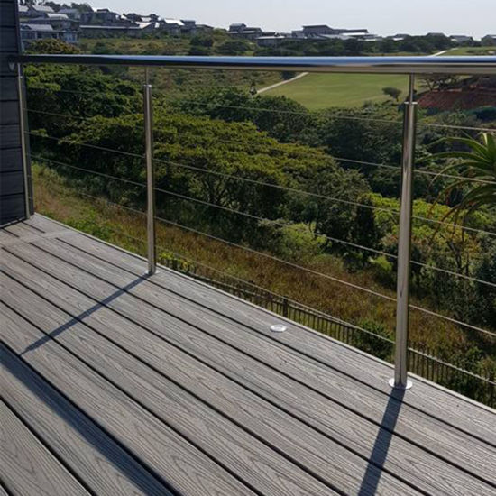 Interior / Exterior Balcony Stainless Steel Wire Railing with 4mm Cable System pictures & photos