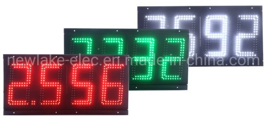 Ce Approved 8-Inch LED Gas Price Display Signs (IP67 for all weathers)
