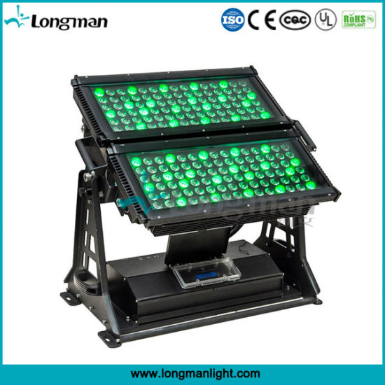 High Power Outdoor 180PCS*5W Rgbaw China LED Flood Lighting pictures & photos