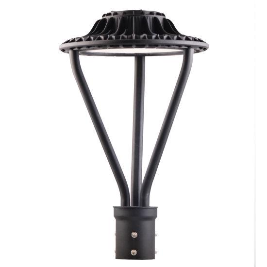 ETL Dlc 100W Front Yard Light Post Exterior Pole Lights Outdoor LED Post Lights Outdoor Pole Light Fixtures