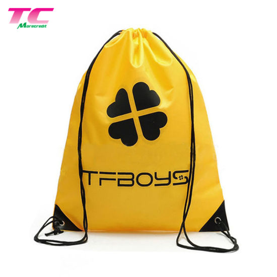 b05c1bdb9c38 Free Sample Offer Custom Logo Backpack Sports Drawstring Bag pictures    photos