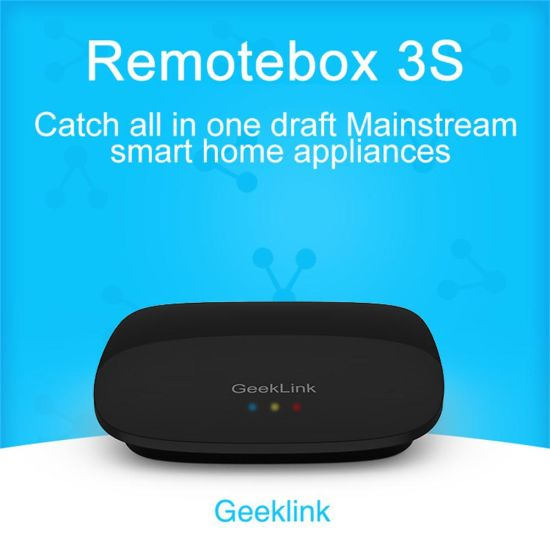 China Geeklink Remotebox 3s Smart Home Automation APP Remote