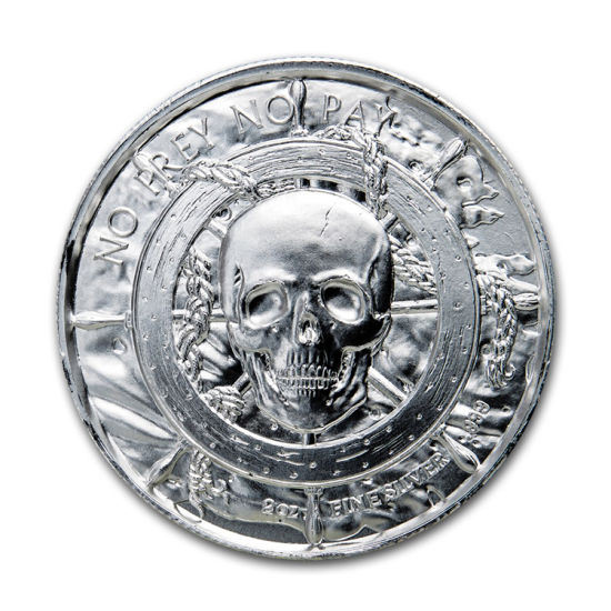 No Minimum Pirate Gold Silver Metal Custom Souvenir Coin Coins