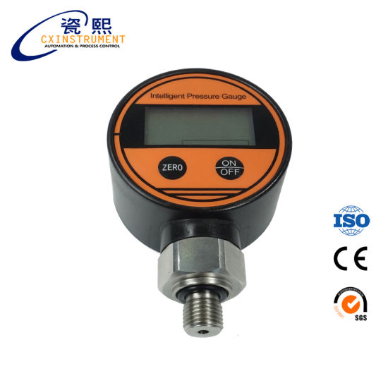 China Digital Pressure Gauge Psi Battery Powered Pressure Display