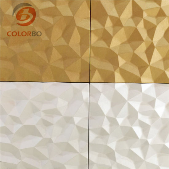 New Design Interior Decoration 3D Leather Wall Panels pictures & photos
