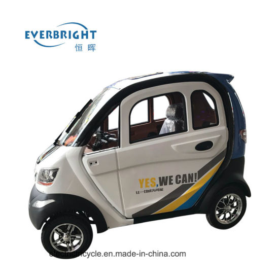 Sale China Closed Electric 4 Wheel Mini Car for Disabled/Old People pictures & photos