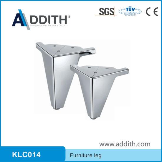 Chrome Metal Furniture Sofa Leg Table Bed Leg L100*W135*H100mm L100*W135*H120mm