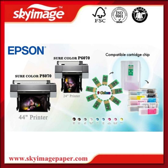 Hot Sale Ink Chip for Epson P6070/P7070/P8070/P9070 Inkjet Printers