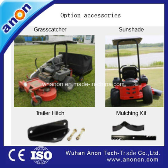 Anon Wholesale Garden Grass Cutter Zero Turn Riding Lawn Mower