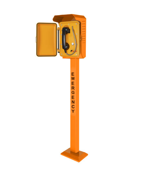 Weatherproof Telephone Roadside Sos Emergency Call Station