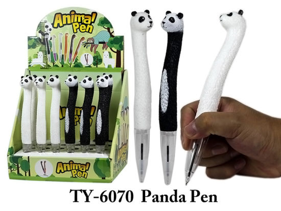 Novelty Toy Wooden Hand Craft Animal Stationery Pen