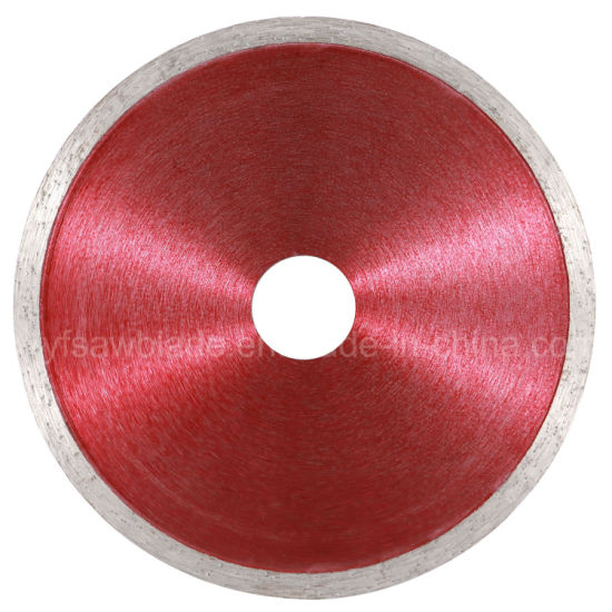 High-Quality Continuous Rim Diamond Cutting Circular Saw Disc Blade