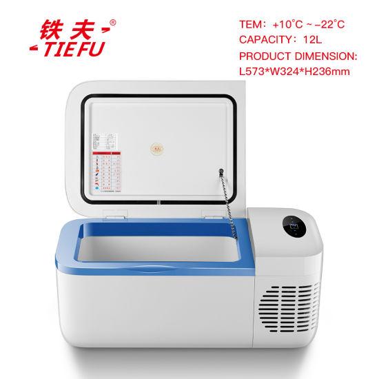 China 12L Portable DC Compressor Car Refrigerator AC/DC