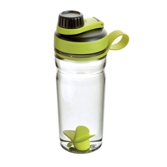 20 Ounce Plastic Sports Fitness Protein Shaker Water Drink Bottle