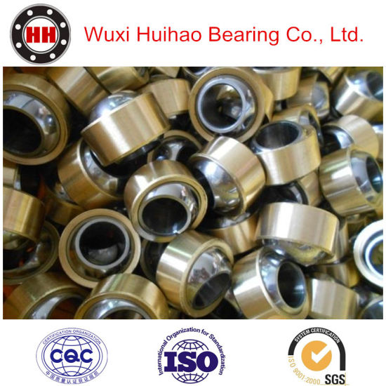Self Lubricating Stainless Steel Radial Spherical Joint Plain Bearing pictures & photos
