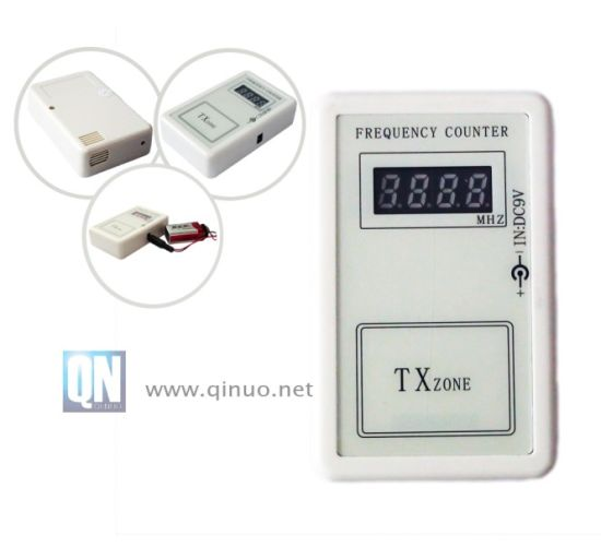 Mini Frequency Meter to Scan The RF Remote Control Frequency