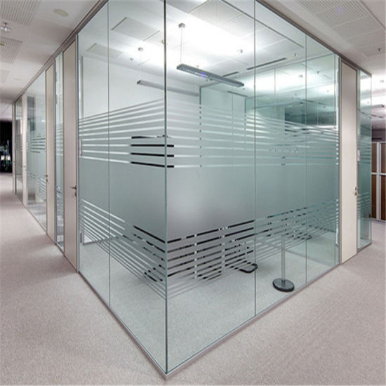 Toughened Safety Glass For Office Interior Partition Wall