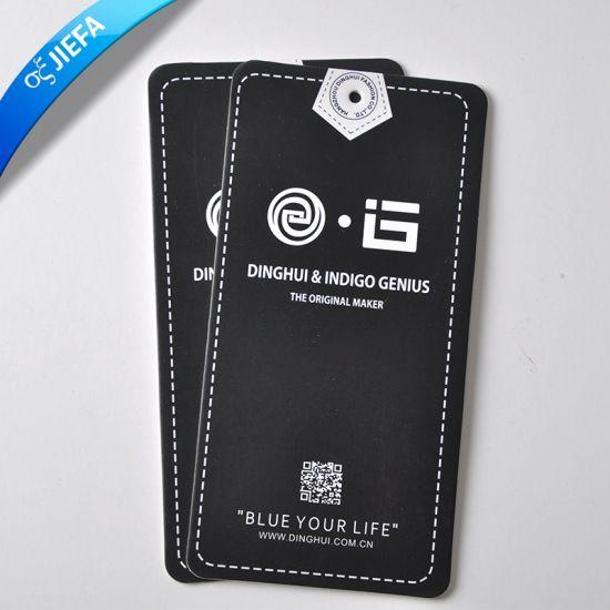 d81fe21e3 China Custom Printed Jeans Paper Hang Tags - China Hang Tag ...