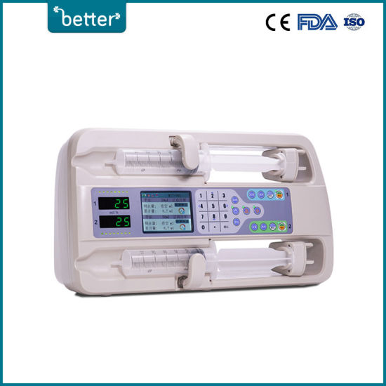 Hotting Sell Medical Equipment Syringe Pump With Ce Certification