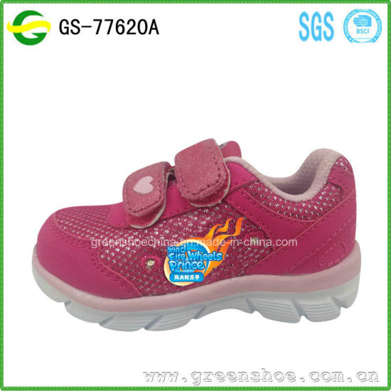 High Quality Summer Kids Girl Sport Stock Shoes 18-30 pictures & photos