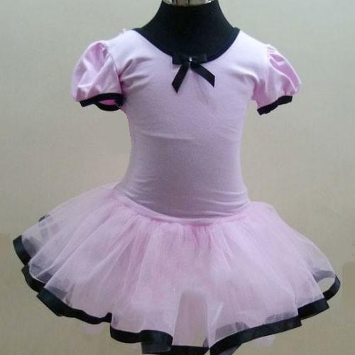 High Quality Girl's Pink Leotard Dance Ballet Tutu Dress