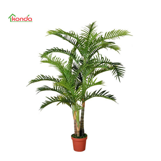 Real Touch Gluing Process Big Tree Tropical Ornamental Plants Riches Tree