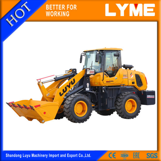 Small/Mini/Compact Agricultural/Construction/Farm Front End Shovel Wheel Loader with CE/ISO/Eac Certificate Ly938