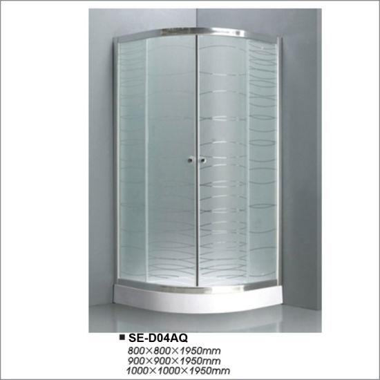 Bathroom 6mm Quadrant Door Shower Enclosure Shower Room