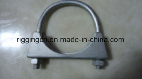Galvanized U Shape Pipe Clamp for Reinforce