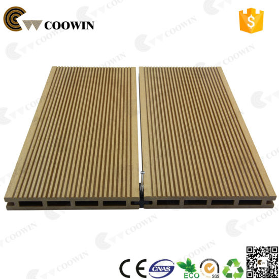 WPC Outdoor Timber Wood Plastic Patio Floor Coverings