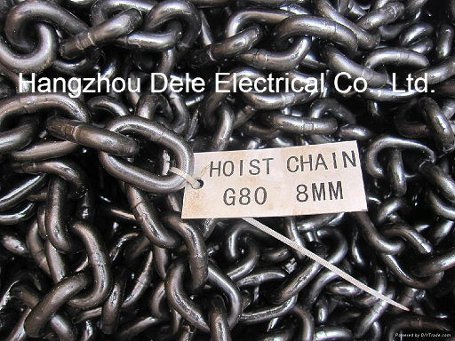 8mm Lift Load Black Link Chain pictures & photos