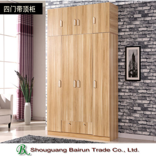 Bedroom Furniture Melamine Particle Board Wardrobe pictures & photos