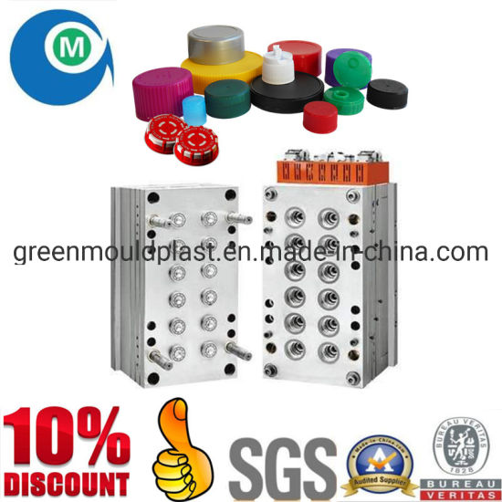 Custom-Made Plastic Jar Cap Injection Mold China Manufacturer