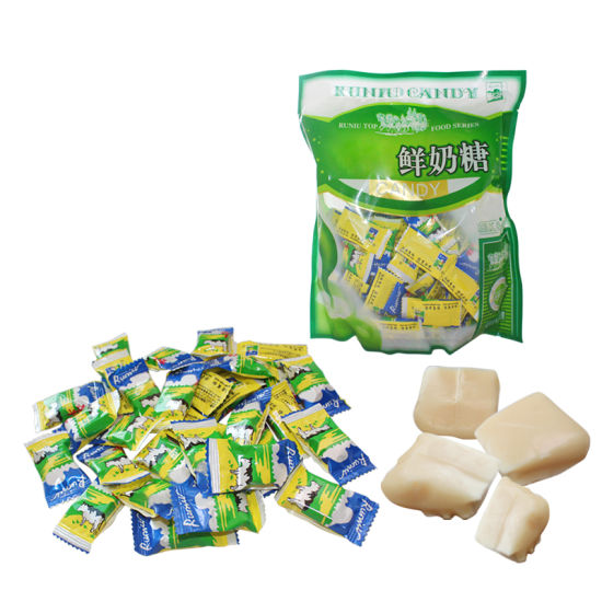 Milk Flavor Chewy Soft Milk Candy - China Soft Candy, Chewy
