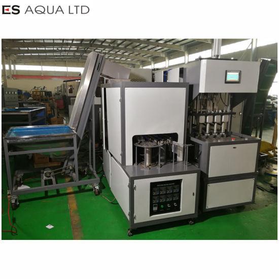Semi Automatic Pet Plastic Bottle Making Blower Blowing Blow Moulding Molding Machinery Machine
